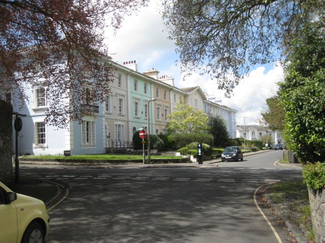 South side of Devon Square