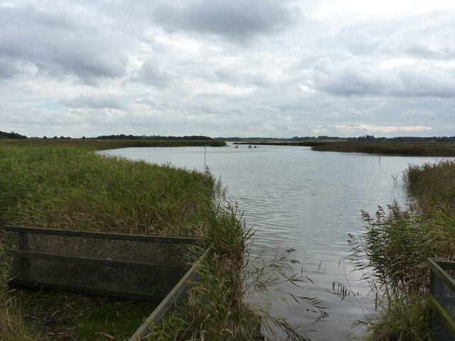 Tidal lagoon of the River Alde near Snape