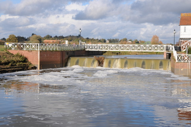The Weir at Abbey Mill