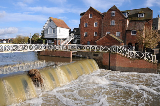 Mill Weir and Abbey Mill