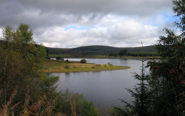 Promontory into Carron Reservoir