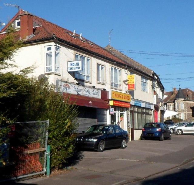 Greenleaze shops, Knowle, Bristol