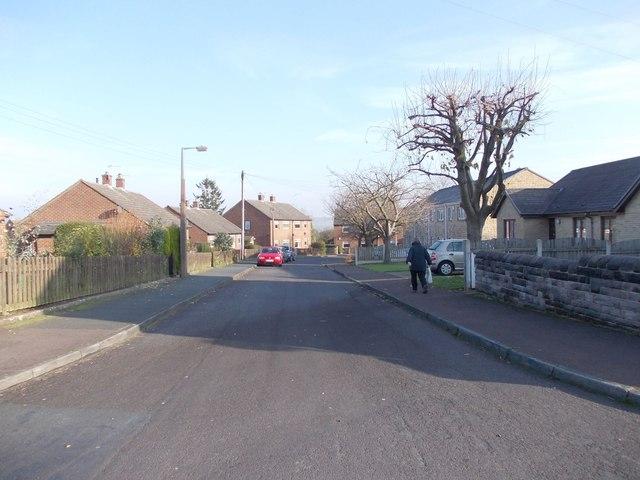 Laverock Crescent - Laverock Lane
