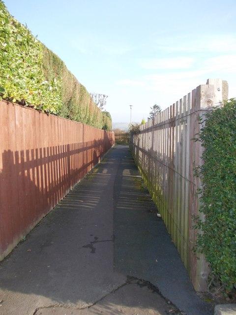 Footpath - Laverock Lane