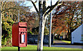 J5060 : Letter box, Killinchy by Albert Bridge