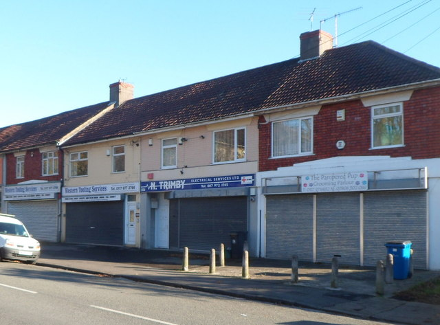 Redcatch Road businesses, Knowle, Bristol