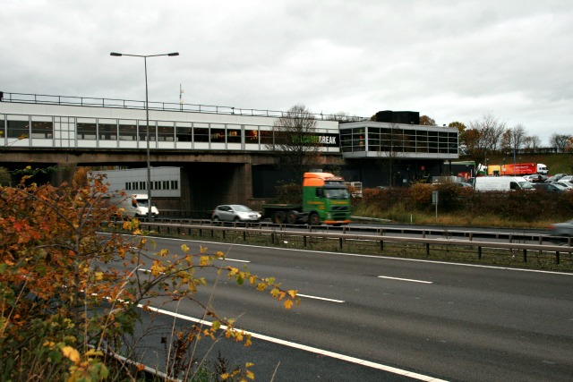Bridge at Keele services