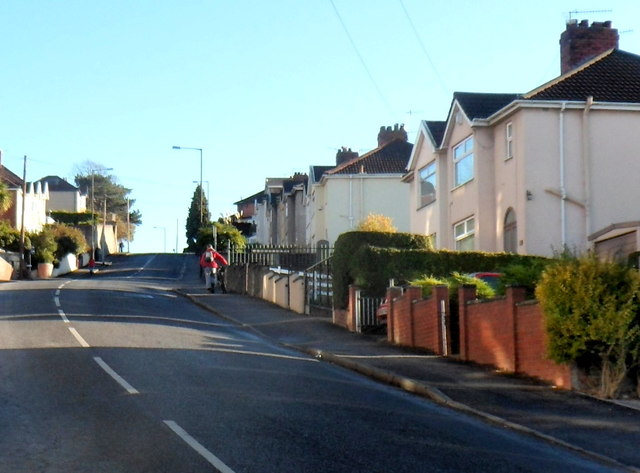 Not an easy route ahead for cyclists, Redcatch Road, Knowle, Bristol