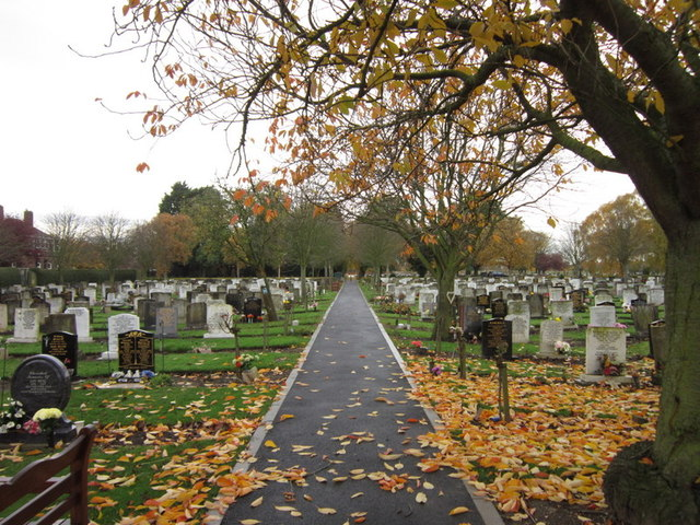 Eastern Cemetery on Preston Road