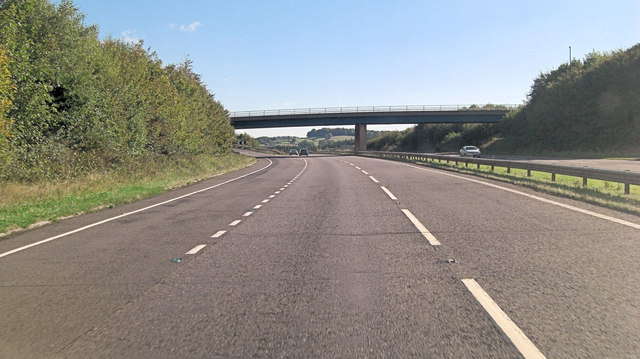 A30 interchange south of Gorwyn House