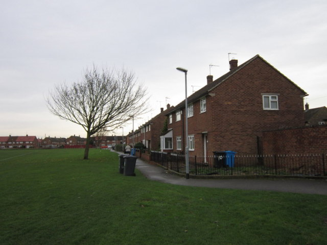 Houses on Garfield Close, Greatfied Estate