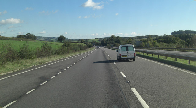A30 north of Melhuish Wood