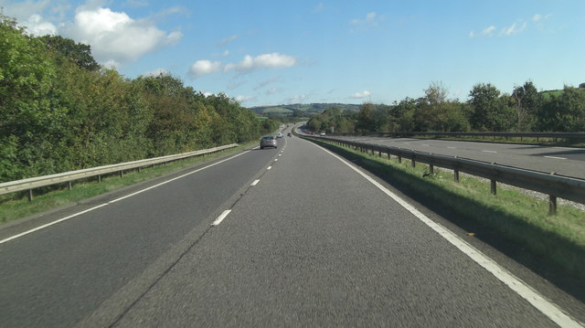 A30 northwest of Great Hackworthy