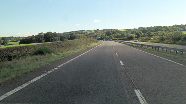 A30 north of Fairview Farm