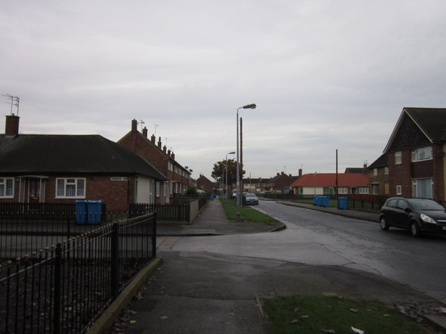 Bainbridge Avenue near Tanbridge Grove