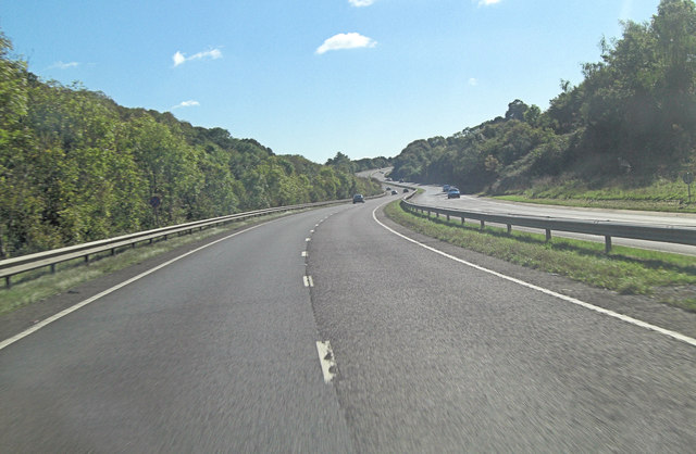 A30 northeast of West Wheatley Farm