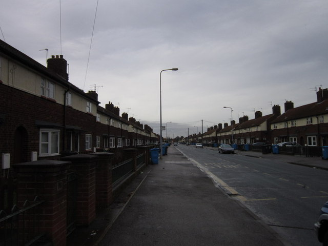Wingfield Road, Sutton Trust Estate, Hull