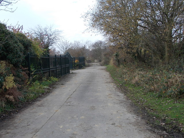 Track - St Giles Road