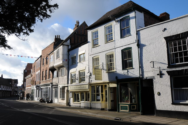 Premises on Church Street, Tewkesbury