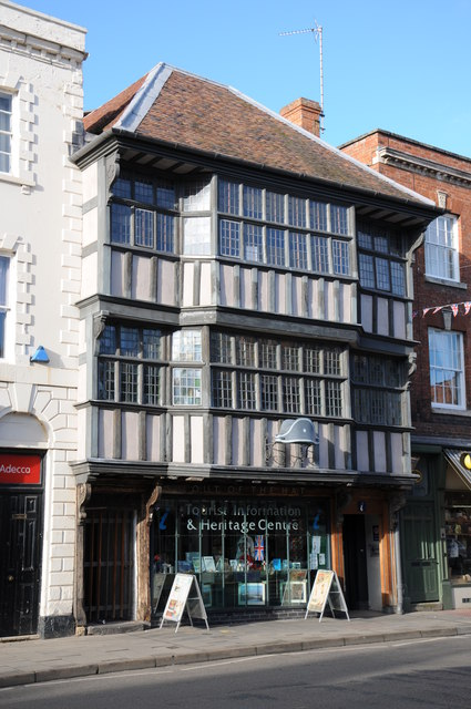 Fine timber-framed building, Tewkesbury
