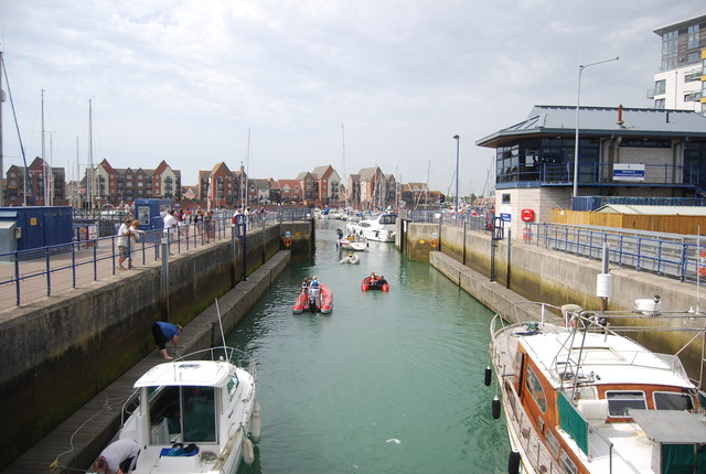 Lock, Sovereign Harbour
