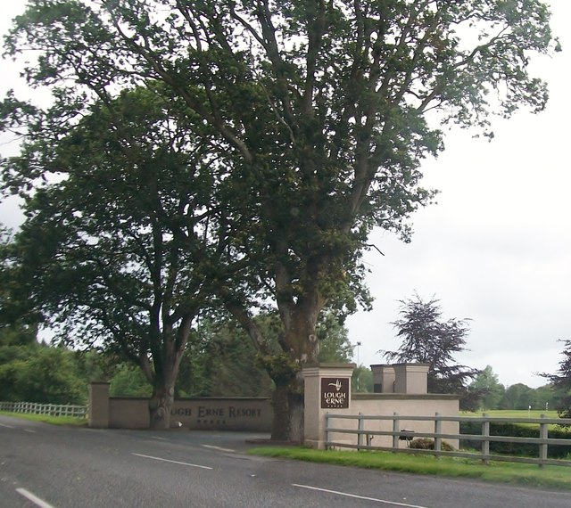 Entrance to the Lough Erne Golf Resort