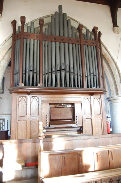 Organ, All Saints' church, Lydd