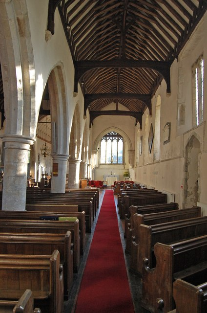 South Aisle, All Saints' church, Lydd