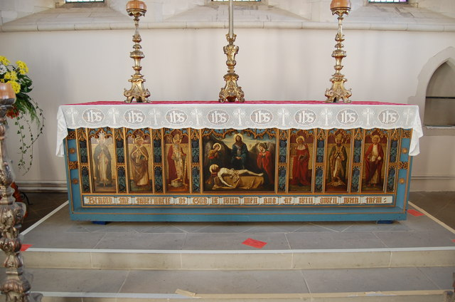The Altar, All Saints' church, Lydd