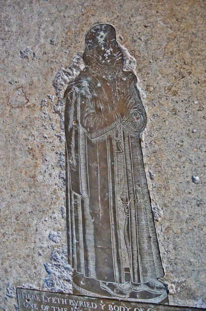 Brass to Clement Stuppeny, Lydd church