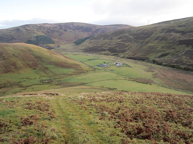 Glenkirk seen from Congrie Hill