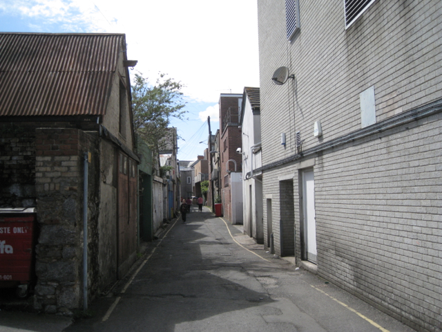 Hopkins Lane, rear of Queen Street
