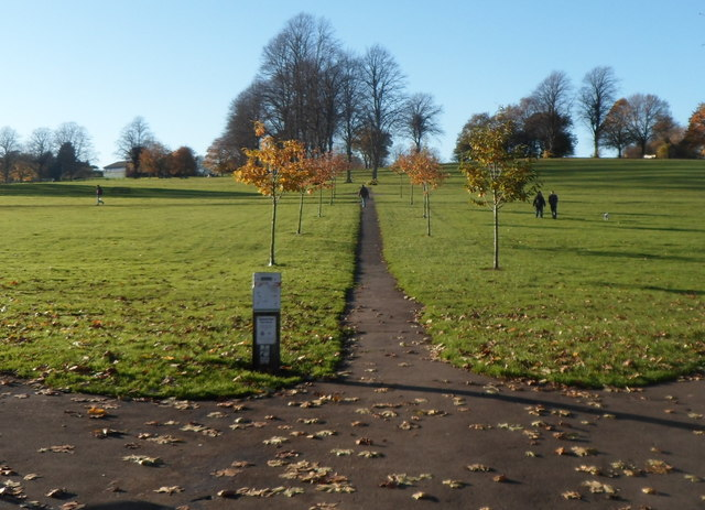 Path through Victoria Park, Bristol