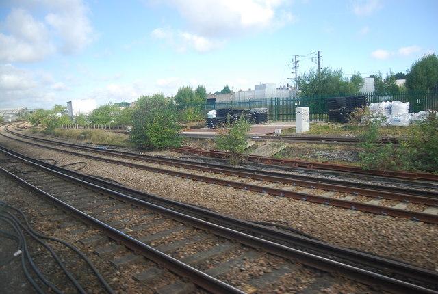 Railway lines at Ashford