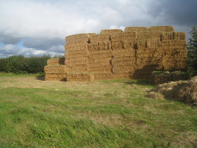 Straw stack - Breach Farm