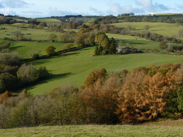 Pound House from across the valley