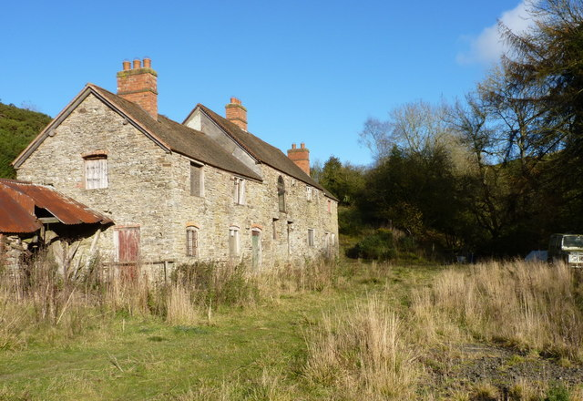Abandoned farmhouse above the Rowley Brook