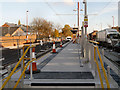 SJ9098 : Droylsden Tram Stop by David Dixon