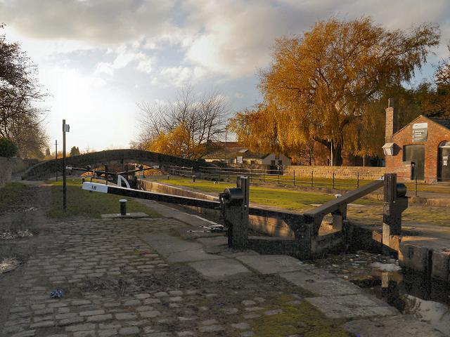 Lock 18, Ashton canal