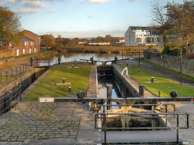 Fairfield Lock, Ashton Canal