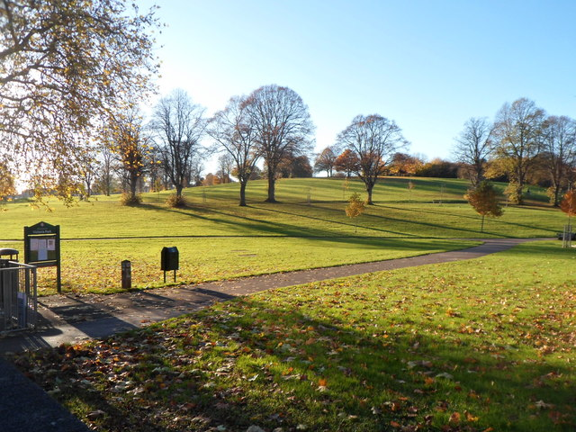 Eastern side of Victoria Park, Bristol