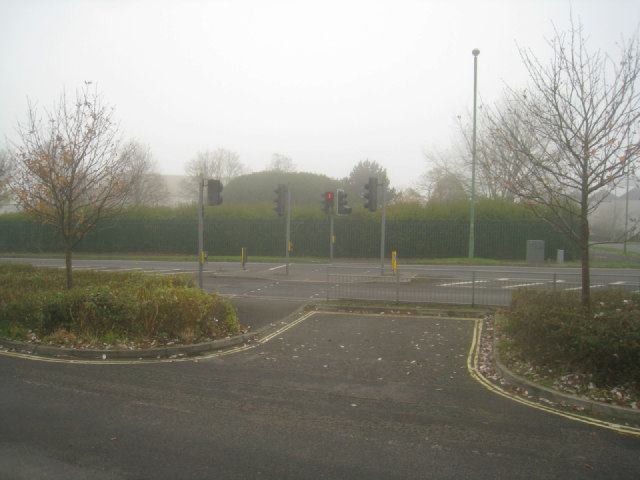 Pedestrian crossing - Kingsclere Road