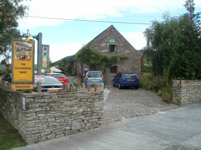 The Old Radnor Barn B&B, Talgarth