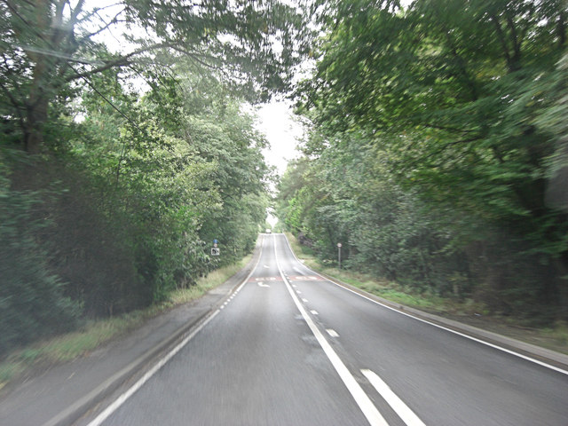 A36 Salisbury Road at Blackhill