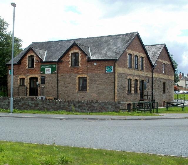 Gwernyfed RFC clubhouse, Talgarth