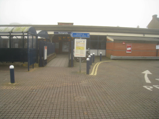 Basingstoke station - north entrance
