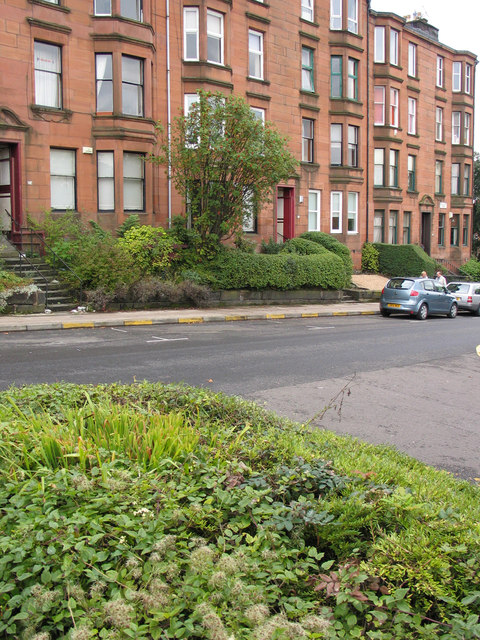 Tenement housing in Buccleuch Street
