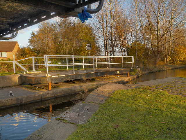 Yew Tree Swing Bridge, Droylsden