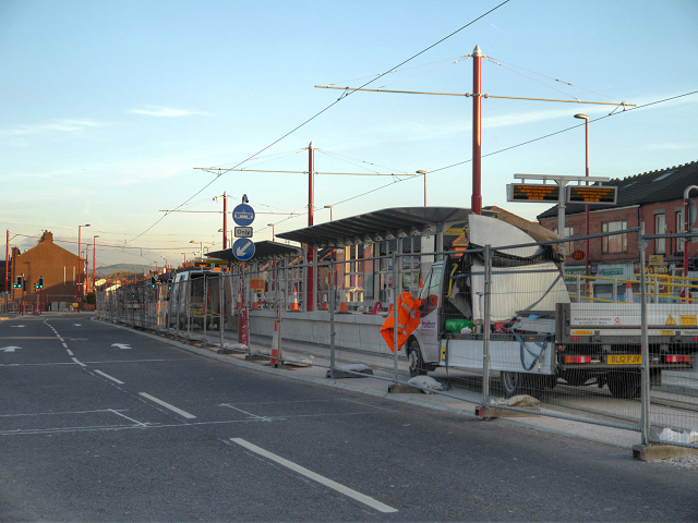 New Metrolink Stop. Edge Lane