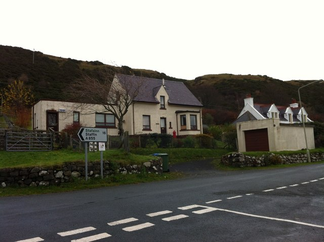 The old Uig Police House